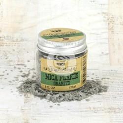 Хлопья (Mica Flakes) 28 г - Granite - Finnabair Art Ingredients - Prima
