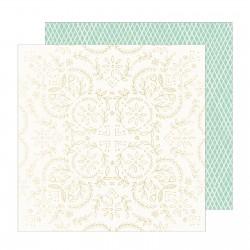 Кардсток с фольгированием - Sunny Days - Crate Paper