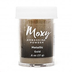 Пудра для эмбоссинга Moxy - Metallic Gold - American Crafts