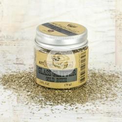 Глиттер 56 г - Gold Rush - Finnabair Art Ingredients Glass Glitter