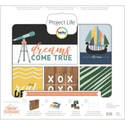 Набор карточек (616 шт) - Daring - Project Life