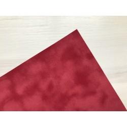 Бумага бархатная (150 г/м2) - красная, 25х23 см