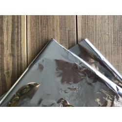 Фольга для горячего тиснения - серебро, 30х100 см