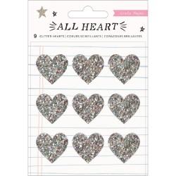 Акриловые украшения (3 шт.) - All Heart - Crate Paper