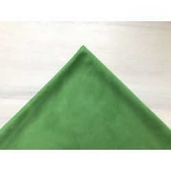 Замша стрейч №115 - Салотовый, 25х30 см