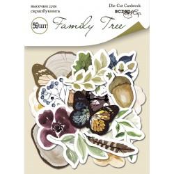 Высечки (59шт) - Family Tree - Scrapmir