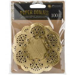 Золотые салфетки - Paper Doilies - Prima Marketing