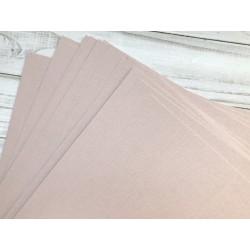 Дизайнерский картон №07 (290 г) - пудрово-розовый (210х225 мм)