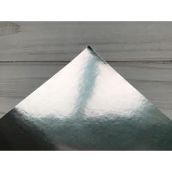Бумага самоклейка, 15х25 см - Gloss Silver