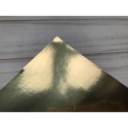 Бумага самоклейка, 15х25 см - Gloss Gold (шампань)