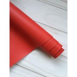 Кожзам переплётный №224 - Красный