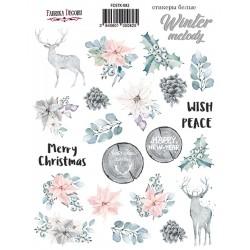 Наклейки №082 - Winter Melody - Фабрика Декору