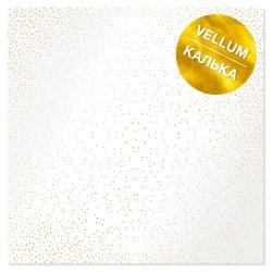 Калька (веллум) - Golden Mini Drops - Фабрика Декору