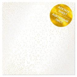 Ацетатный лист - Golden Mini Drops - Фабрика Декору