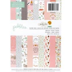 1/3 набора бумаги (12 листов) - Peek-A-Boo You Boy - Pebbles