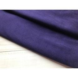 Замша иск. (двухсторонняя) №323 - Фиолетовый, 25х29 см