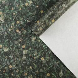 Бумага упаковочная крафтовая, 70×100 см - «Лесная сказка»