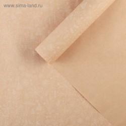 Бумага упаковочная крафтовая, 70х100 см - «Нежный новый год»