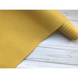 Кожзам переплётный №802 - Жёлтый