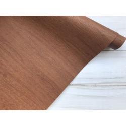 Кожзам переплётный №706 (фактура дерева) - Светло-коричневый