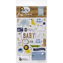 Пафф-наклейки - Baby Boy - Echo Park