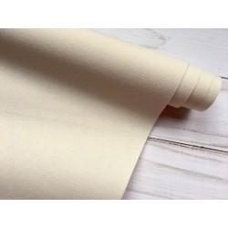 Ткань на бумажной основе - Кремовый, 25х70 см