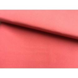 Кожа иск. - нубук на х/б основе (розовая), 25х35 см