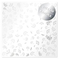 Калька (веллум) 30х30 см - Silver Dill - Фабрика Декору