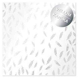 Калька (веллум) - Silver Feather - Фабрика Декору