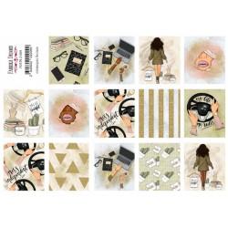 Наклейки для журналинга №2-009 - Фабрика Декору