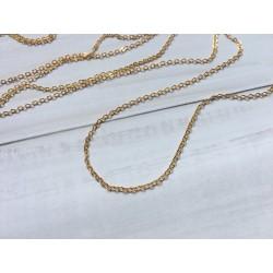Цепочка 1,5 мм (золотая) - 10 см