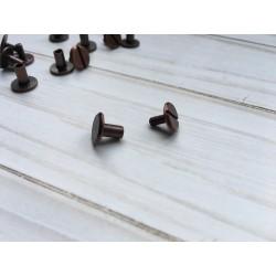 Крепление для кольцевого механизма (болт) - Красная бронза - 1 шт