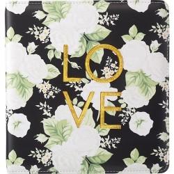 Фотоальбом Black Floral (21,5х23 см) - Color Crush - Webster's Pages
