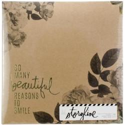 Альбом Storyline2 с файлами - Floral - Heidi Swapp