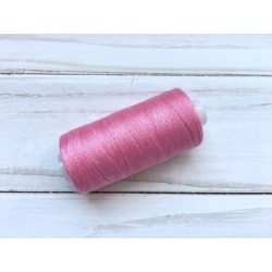 Нитки швейные 40/2 (400 ярдов) - Розовые