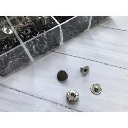 """Кнопка """"Альфа"""" 12,5 мм - Никель"""