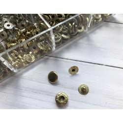 """Кнопка """"Альфа"""" 10 мм - Золото"""
