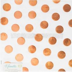 Веллум Gold Foil - Shimelle - American Crafts