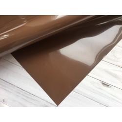 Термотрансферная плёнка Matt (10х25 см) - Шоколадный