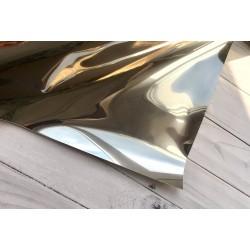 Термотрансферная плёнка Metallic (10х25 см) - Silver