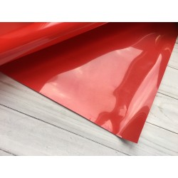 Термотрансферная плёнка, Matt (10х25 см) - Красная