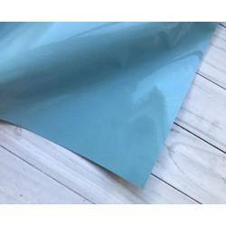Термотрансферная плёнка Flock (10х25 см) - Голубая