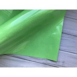 Термотрансферная плёнка Glitter (10х25 см) - Салатовая