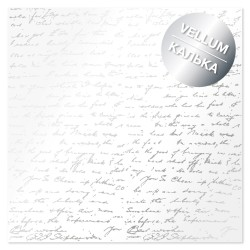 Калька (веллум) - Silver text - Фабрика Декору