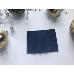 Заготовка для кисточки 70х55 мм - Синий матовый №106