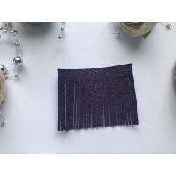 Заготовка для кисточки 70х55 мм - Фиолетовый питон №501№