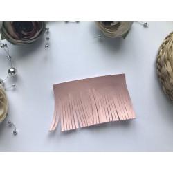 Заготовка для кисточки 70х50 мм - Пудрово-розовый матовый №219