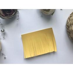 Заготовка для кисточки 70х55 мм - Жёлтый матовый №103