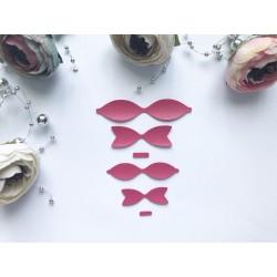 Заготовка для бантиков, 2 шт - Ярко-розовый №303