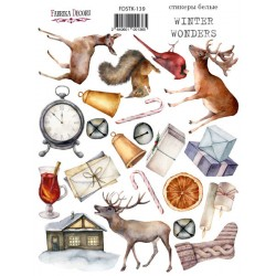 Наклейки №139 - Winter wonders - Фабрика Декору